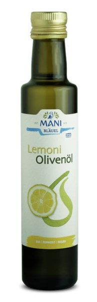 LOGO_MANI organic olive oil with lemon
