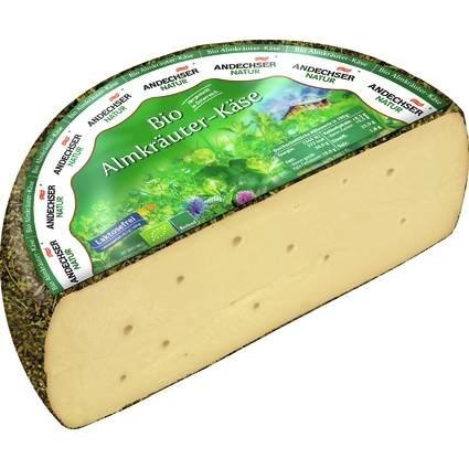 LOGO_ANDECHSER NATUR Organic alp herbs cheese 50% 3,5kg
