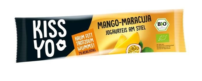LOGO_Kissyo Joghurteis am Stiel Mango Maracuja