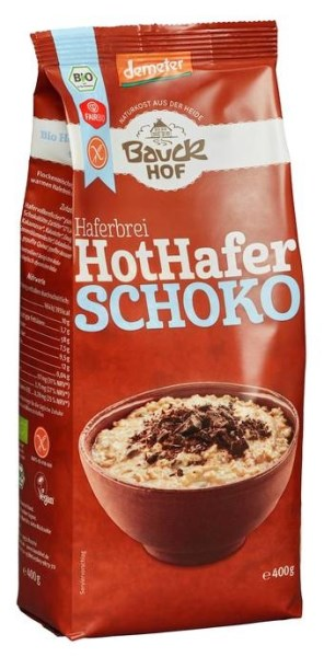 LOGO_Porridge chocolate, gluten free