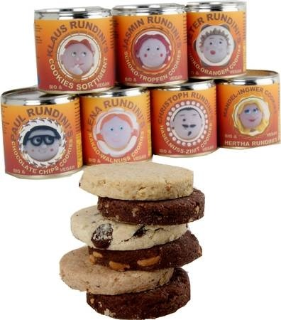 LOGO_RUNDINI Cookies vegan in a tin