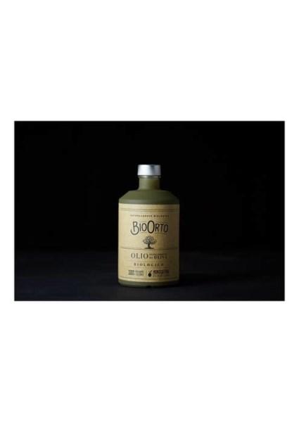 LOGO_BioOrto Extra Virgin olive oil var. Peranzana