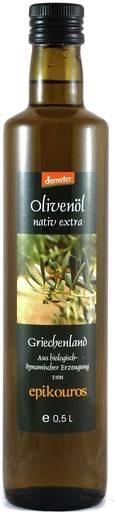 LOGO_DEMETER Epikouros Olivenöl nativ extra aus kontrolliert biologisch-dynamischer Landwirtschaft