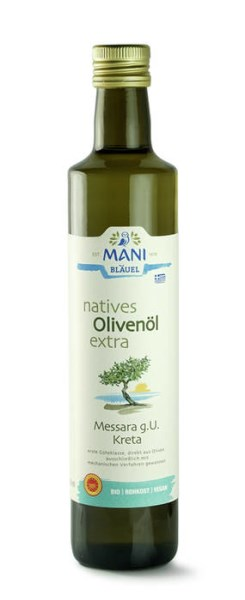 LOGO_MANI extra virgin olive oil Messara P.D.O.