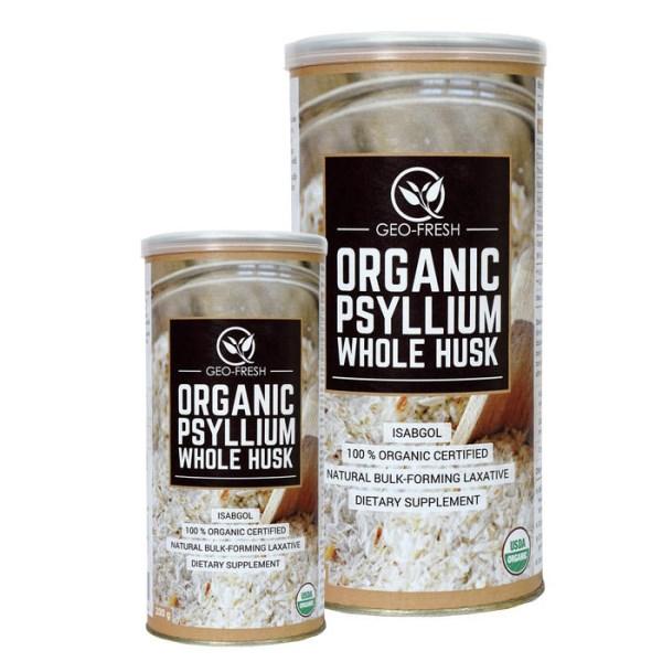 LOGO_Organic Psyllium Husk & Powder,
