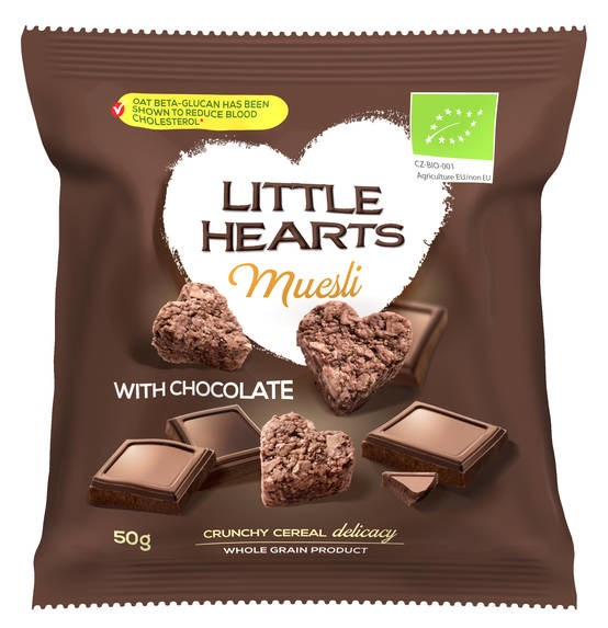 LOGO_Organic Little Hearts - Chocolate