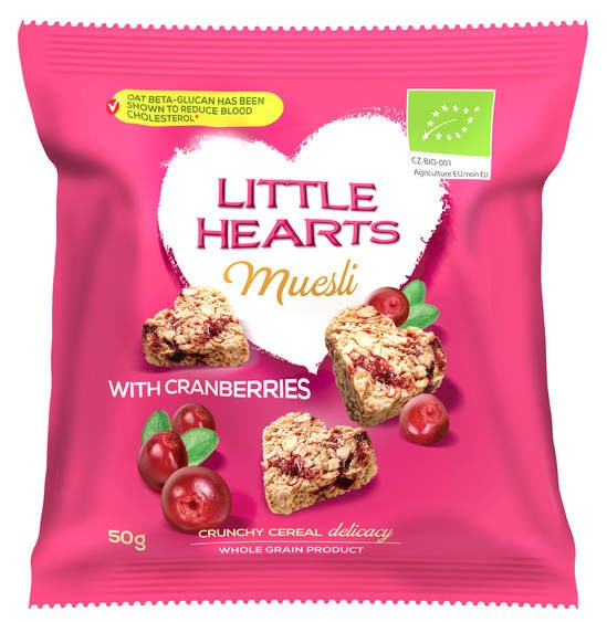 LOGO_Organic Little Hearts - Cranberry