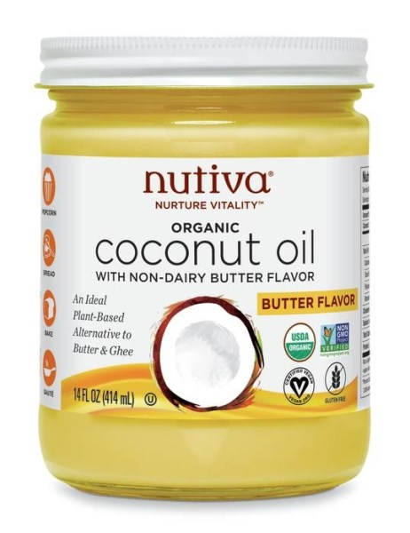 LOGO_Vegan Organic Buttery Coconut Oil