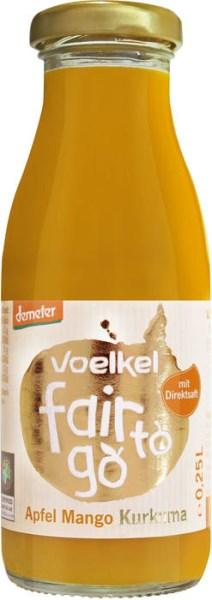 LOGO_Voelkel fair to go - Apfel Mango Kurkuma