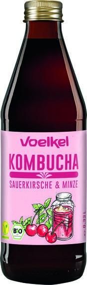 LOGO_Voelkel Kombucha Kirsche Minze