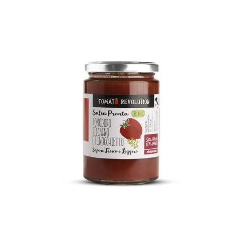"LOGO_Ready-to-use tomato sauce ""pomodoro Siccagno"" and wild fennel"