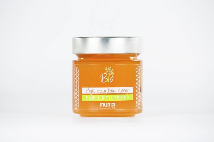 LOGO_Raw High Mountain honey