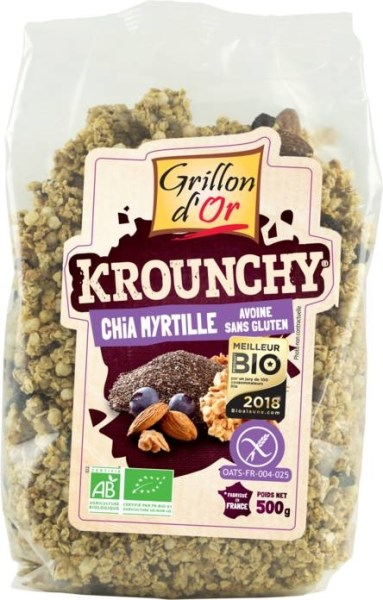 LOGO_Krounchy Chia Heidelbeere Hafer Gluten frei