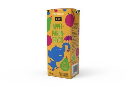 LOGO_Organic Apple-Pear Juice Drink 200 ml