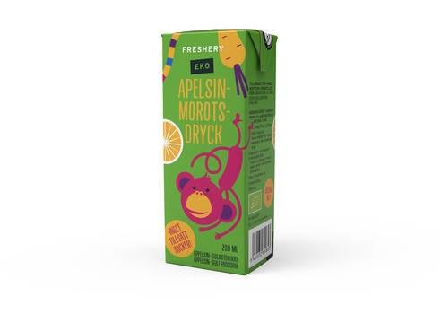 LOGO_Organic Orange-Carrot Juice Drink 200 ml