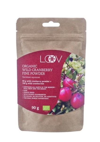 LOGO_Organic wild cranberry freeze-dried fine powder