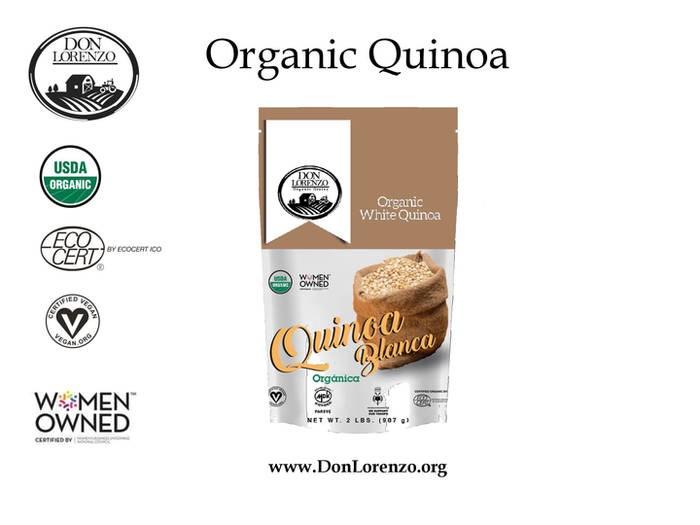 LOGO_Quinoa Flour, Flakes, precooked, extruded