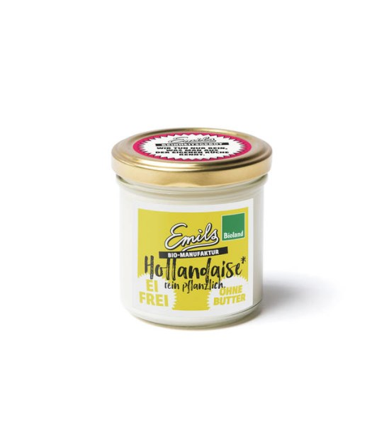 LOGO_vegane Hollandaise - cremig ohne Ei und ohne Butter