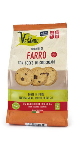 LOGO_Biovegando Spelt biscuits with vegan chocolate drops