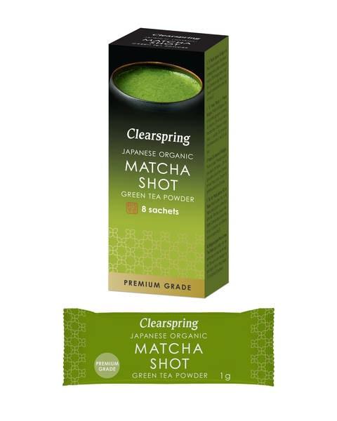 LOGO_Japanese Organic Matcha Shot - Premium Grade Green Tea Powder (8x1g Sachets)