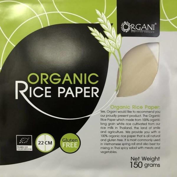 LOGO_ORGANI - Premium Organic Rice Paper