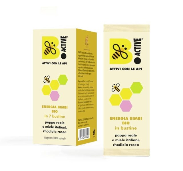 LOGO_BIO ENERGY FOR KIDS in 7 sachets