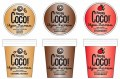 LOGO_Happy Coco Vegan Icecream Lemon / Raspberry / Caramel / Chocolate