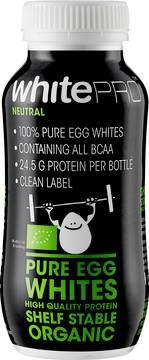 LOGO_whitePRO Organic - 100% Amient Egg Whites