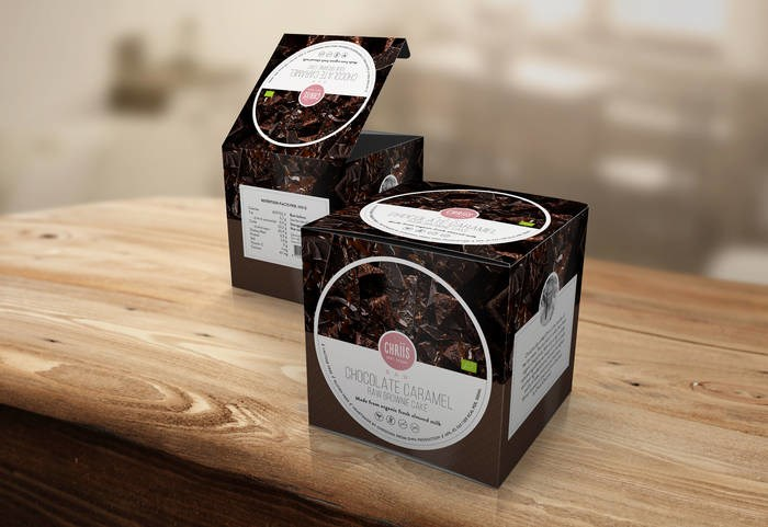LOGO_Rich Chocolate - Raw cake brownie