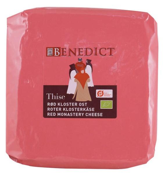 LOGO_Benedict Red Monastery Cheese 60%, Organic