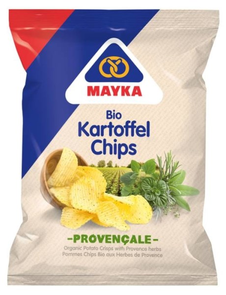 LOGO_MAYKA Organic Potato Crisps with Provence herbs
