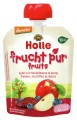 LOGO_Holle Pouchy Apple with Blueberry & Dates, 100% fruit, from 6 months