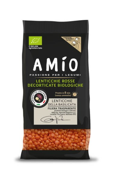 LOGO_AMìO Italienischen Biologischen Hülsenfrüchte und Getreide