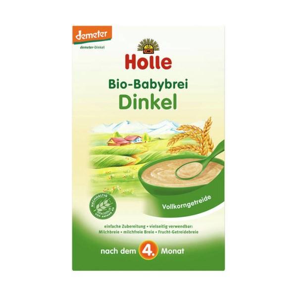 LOGO_Holle Bio-Babybrei Dinkel