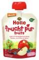 LOGO_Holle Pouchy Apfel mit Heidelbeere & Dattel, 100% Frucht
