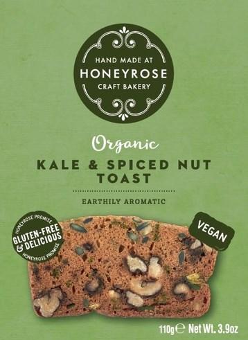 LOGO_Kale & Spiced Nut Toast - Vegan, Gluten-Free & Organic