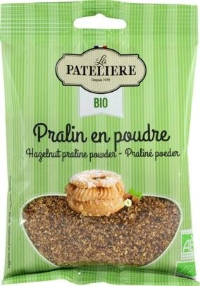 LOGO_Organic hazelnut Praline (powder) 100g