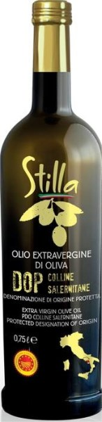 "LOGO_Stilla Extra virgin olive oil PDO "" SALERNITANE HILLS"""