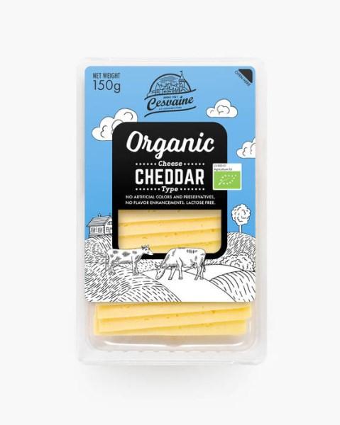LOGO_Organic cheese Cheddar