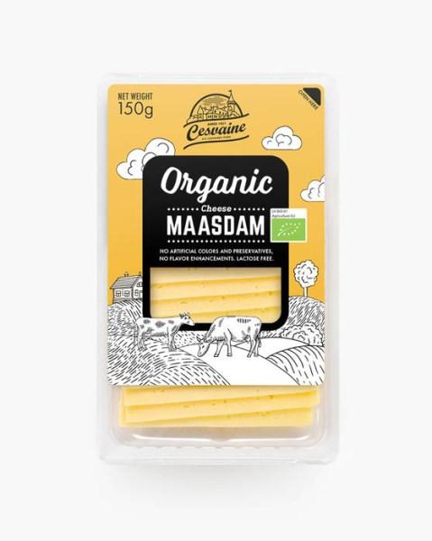 LOGO_Organic cheese Maasdam