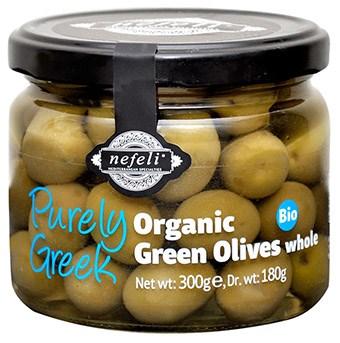 LOGO_Halkidiki Green olives whole / pitted
