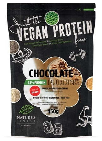 LOGO_Vegan Pudding - Chocolate - 52% Protein