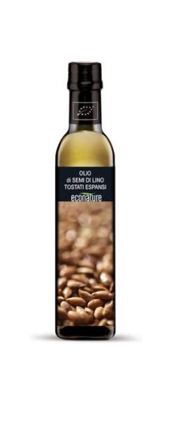 LOGO_Öl aus Leinsaaten getoastet und gepufft Bio