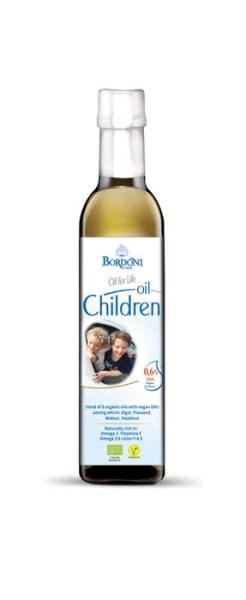 LOGO_Bio Ölmischung mit vegan DHA, für Kinder