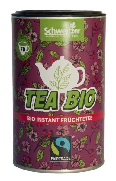 "LOGO_TEA BIO ""ORGANIC INSTANT FRUIT TEA"""