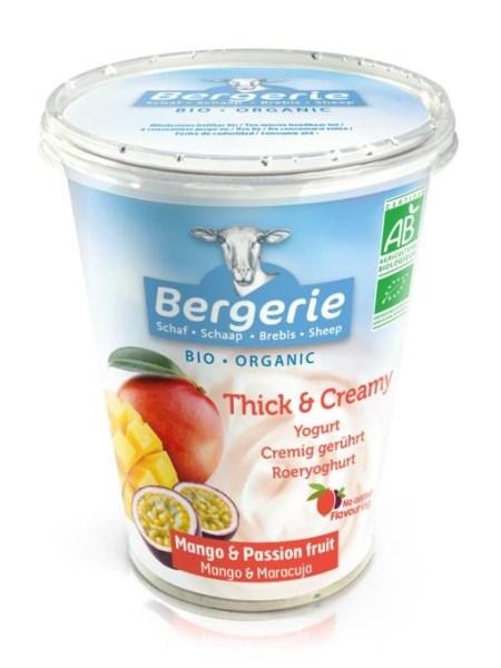 LOGO_Organic sheeps milk yogurt with Mango & Passion Fruit 400g