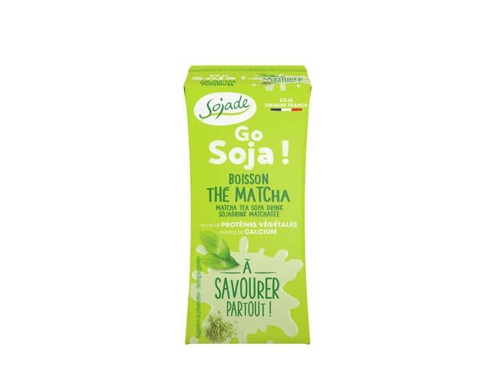 LOGO_Go Soya organic Matcha tea drink 3x20cl
