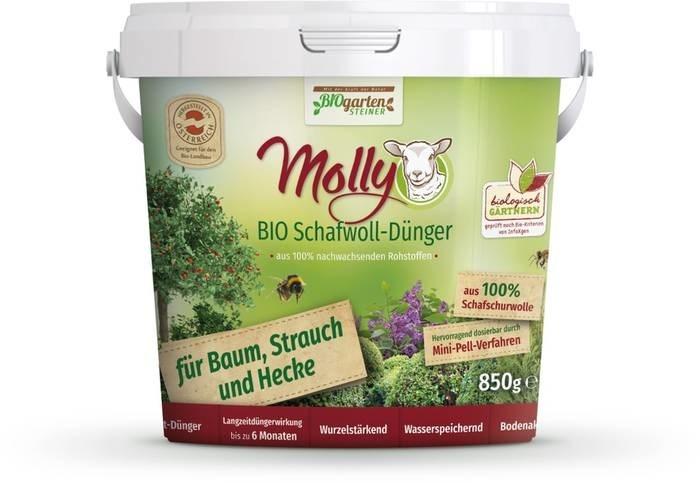 LOGO_BIO Schafwoll-Dünger für Baum, Strauch und Hecke 850 g