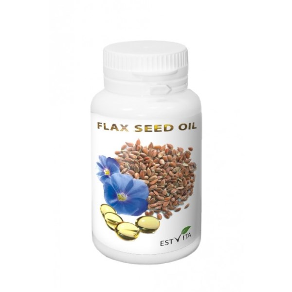 LOGO_Flax seed (Linseed) oil capsules 230mg