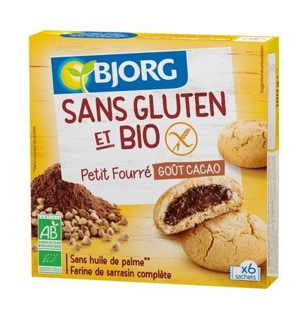 LOGO_Bjorg mini biscuit with a cocoa filling, organic & gluten free